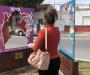 Dan color al memorial de mujeres desaparecidas